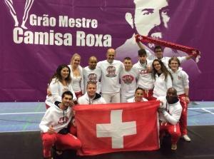 Mestre Camisa + Swiss Team Abadá-Capoeira