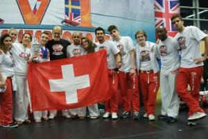 Jogos Europeus 2014 Abadá-capoeira Valais